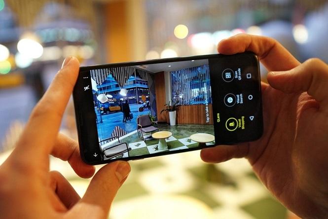 هوش مصنوعی و دوربین ال جی وی 30 اس ThinQ