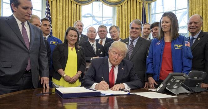 بررسی چشمانداز فضایی رهبران آمریکا ؛ از آیزنهاور تا ترامپ
