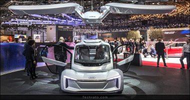 عجیب ترین های نمایشگاه خودروی ژنو 2018 ؛ از خودروی پرنده تا اتاقنشیمن متحرک!