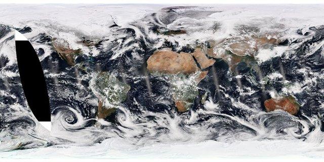 زمین از نگاه ماهواره سئومی