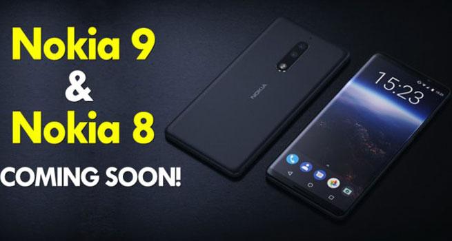 عرضه گوشی های هوشمند نوکیا ۹ و ۸ پرو به زودی!