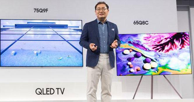 آغاز قدرت نمایی سامسونگ با فروش ۱.۵ میلیون تلویزیون QLED