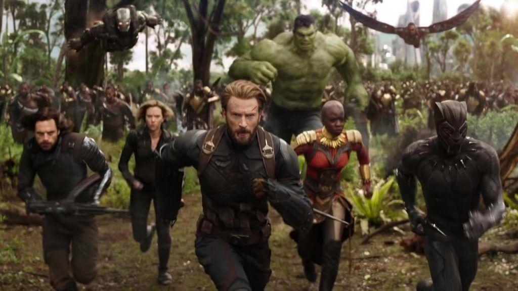 Avengers: Infinity War از برترین فیلم های ابرقهرمانی 2018