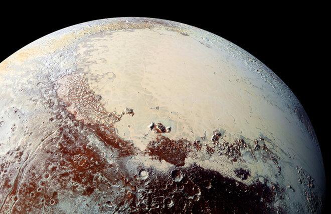 تصویر افقهای نو از پلوتو