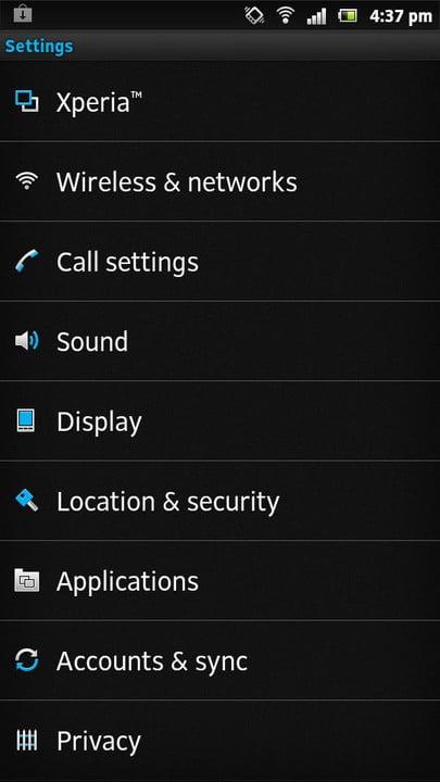 گام سوم: به قسمت تنظیمات بروید و اپلیکیشن را پیدا کنید