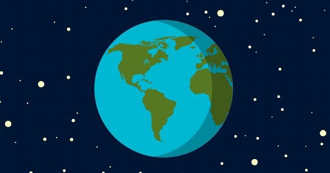 جهت چرخش زمین