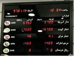 رکورد شکنی دلار قیمت دلار به مرز 6000 تومان رسید
