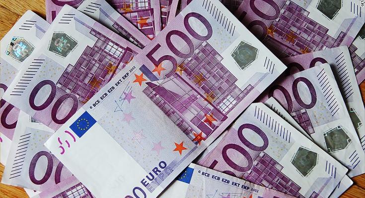 اسکناس های 500 یورویی
