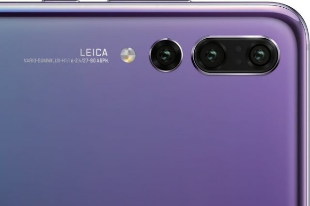 هواوی در ساخت گوشی پی 20 پرو از یک دوربین سه گانه با برند لایکا (Leica) استفاده کرده است