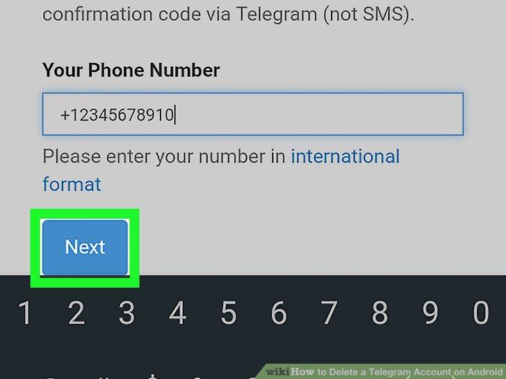 پاک سازی تلگرام