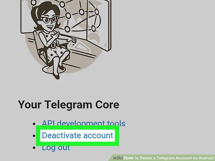 غیر فعال کردن تلگرام