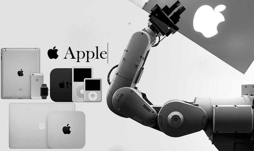 ربات بازیافت کننده اپل 200 آیفون را در یک ساعت تکهتکه میکند