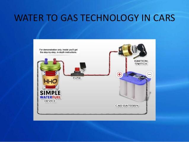 نحوه استفاده از آب به عنوان سوخت در خودرو