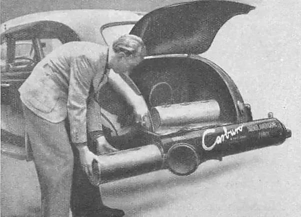 تاریخچه خودروهای آبسوز
