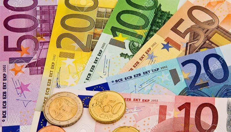 اسکناس های یورو