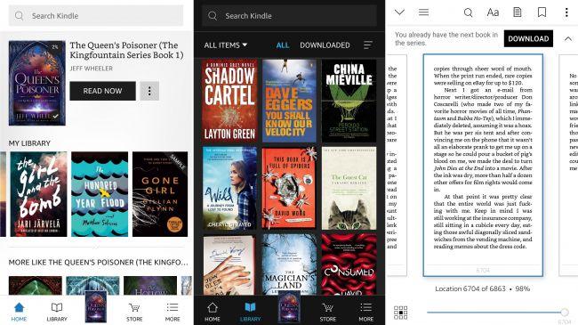 آمازون کیندل (Amazon Kindle)