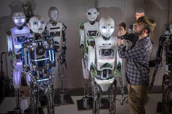 طراحی ربات های انسان نما
