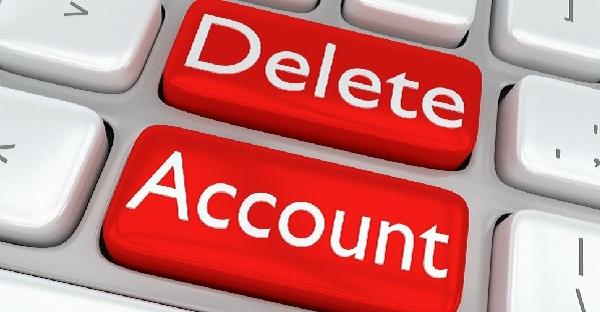 پاک کردن حساب کاربری در سروش