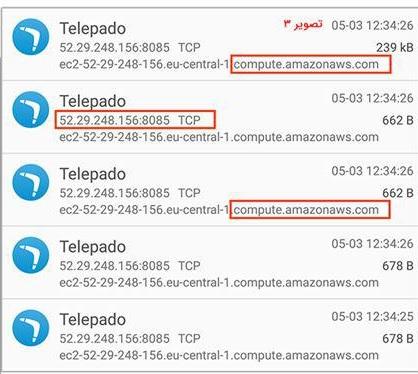 پیامرسان تلهپادو
