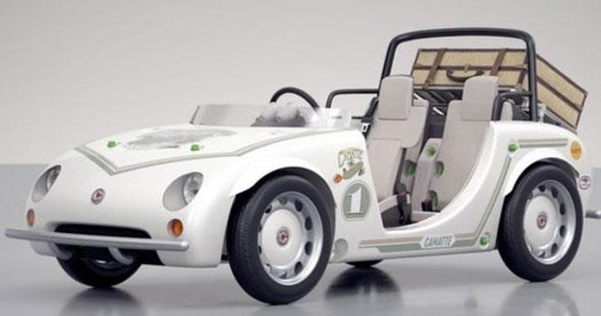 رونمایی تویوتا از یک مدل خودروی کودک با موتور الکتریکی