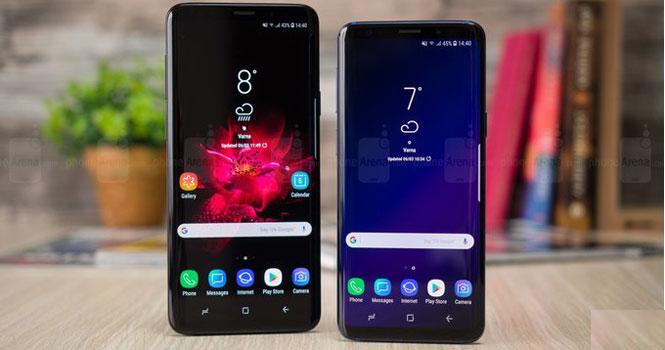 گلکسی اس 9 سامسونگ پرفروش ترین گوشی هوشمند در ماه آوریل 2018