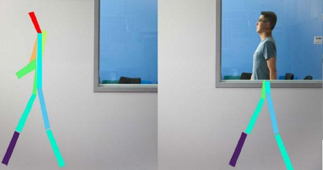 هوش مصنوعی تشخیص حرکات انسان از پشت دیوار را ممکن کرد