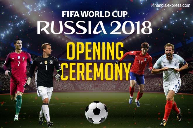افتتاحیه جام جهانی 2018