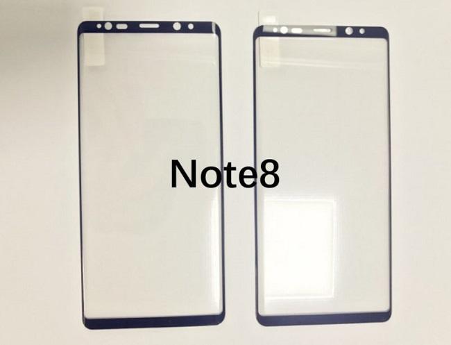 تصویر آخر در گالری زیر، پنل اصلی گلکسی نوت 8 را نشان میدهد که میتوانید تفاوت آن با پنل نوت 9 را مشاهده کنید.