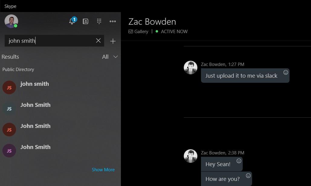 تلاش مایکروسافت برای افزایش قابیلت های اسکایپ 5