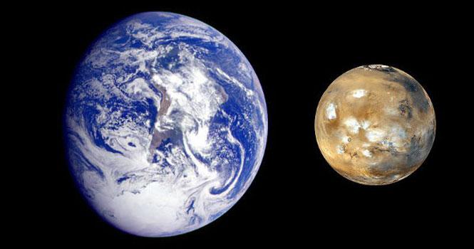 نزدیک شدن مریخ به زمین ؛ نزدیک ترین فاصله در مدت 15 سال گذشته
