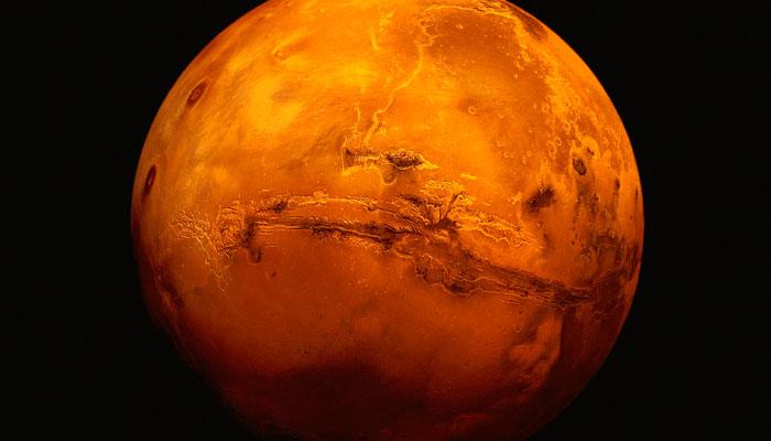 نزدیک شدن مریخ به زمین
