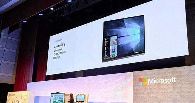 برای برگزاری جلسات هوشمند از نمایشگر مشارکتی ویندوز مایکروسافت استفاده کنید