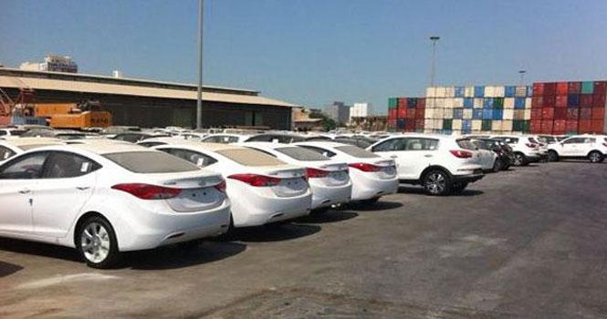 کاهش واردات خودرو به کشور در دو ماه اول سال جاری
