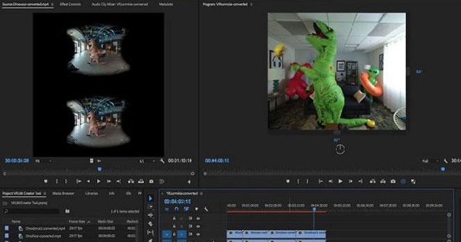 VR180 Creator نرم افزاری برای تدوین ویدیوهای واقعیت مجازی