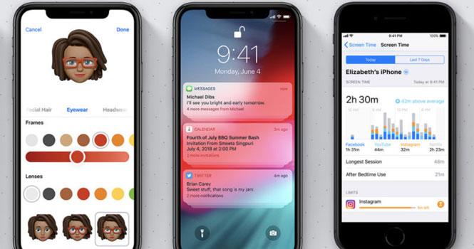 انتشار نسخه بتای عمومی iOS 12 ؛ افزایش سرعت و اجرای روان تر