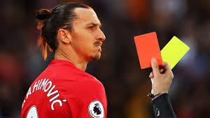 بیشترین کارت قرمز