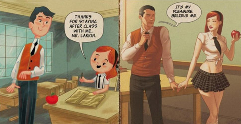 بچه بازی در سیستم آموزشی