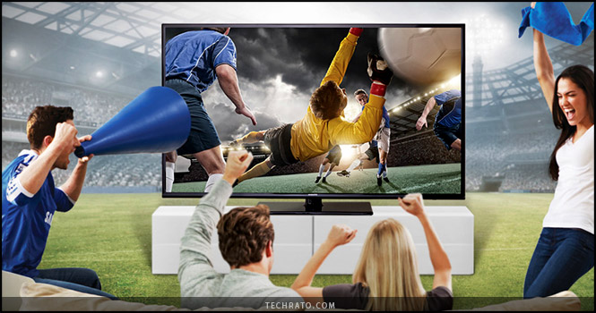 تجربه خانوادگی تماشای مسابقات ورزشی با تکنولوژیهای جدید سامسونگ