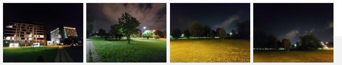 کیفیت عکس در شرایط کم نور