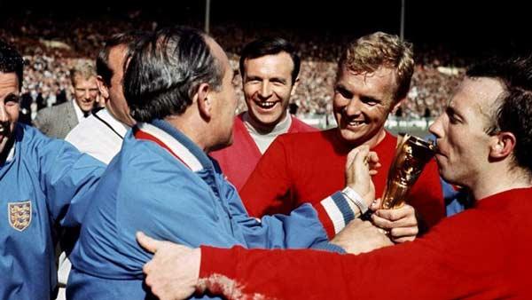 ۱۲. قهرمانان جامهای جهانی ۱۹۶۶ و ۱۹۷۴ از قبل مشخص شده بودند