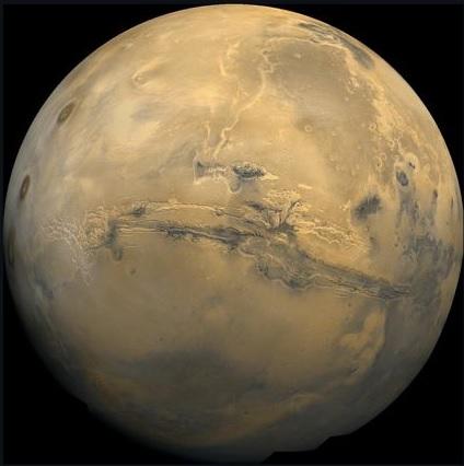 آب در مریخ