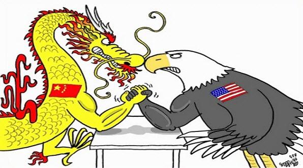 تنش بین چین و آمریکا