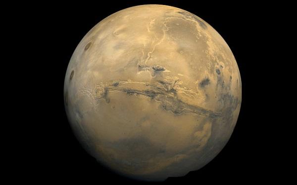 دره والس مارینریس در مریخ