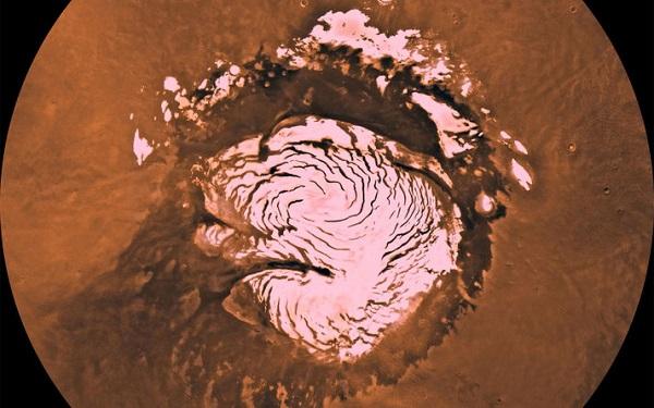 قطب جنوب مریخ