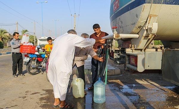 تنش آب خوزستان