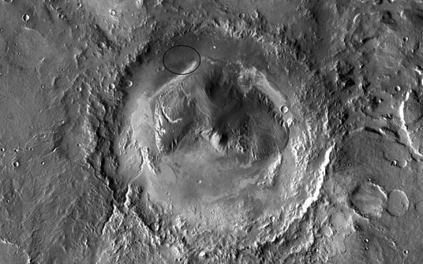 گودال گیل در مریخ