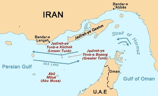 عملکرد ایران در تنگه هرمز