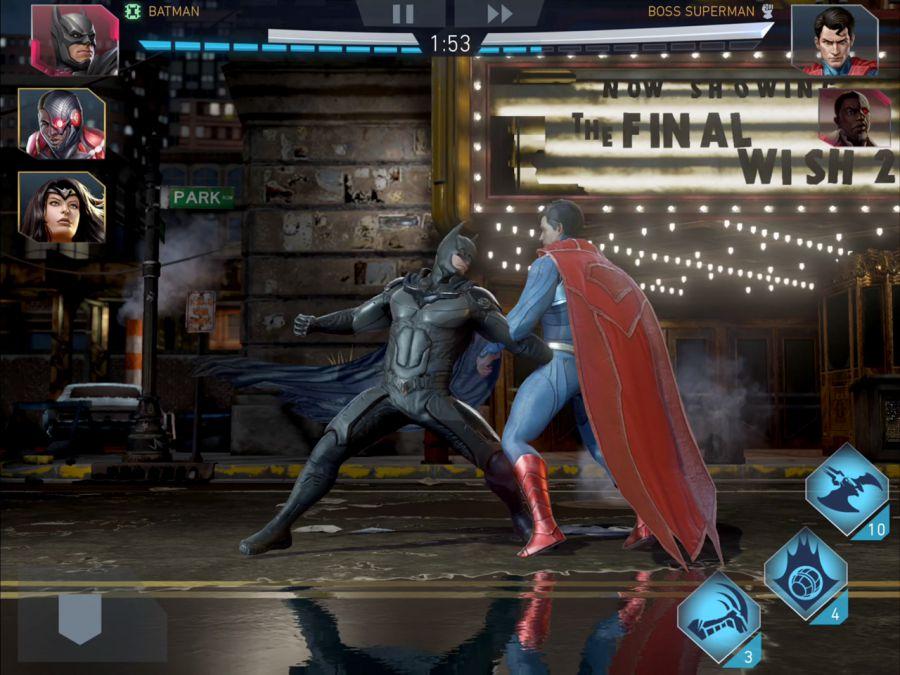 بازی اکشن Injustice 2 برای اندروید