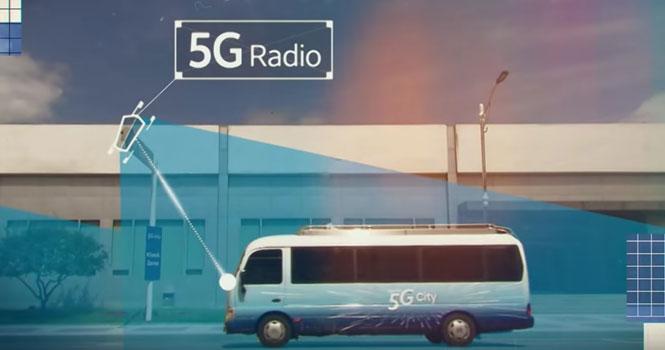 رونمایی سامسونگ از یک شهر هوشمند با فناوری 5G