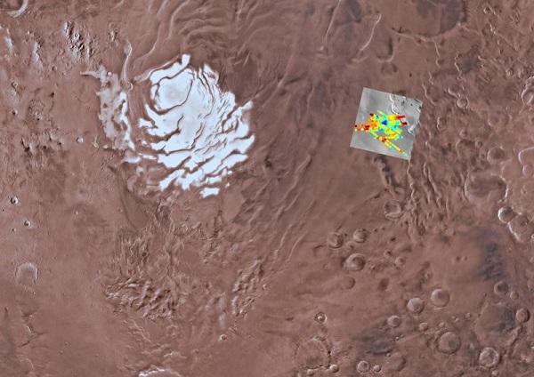 دریاچهای از آب مایع در مریخ